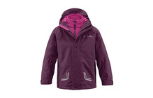 Vaude Kids Campfire 3in1 Jacket III purpure